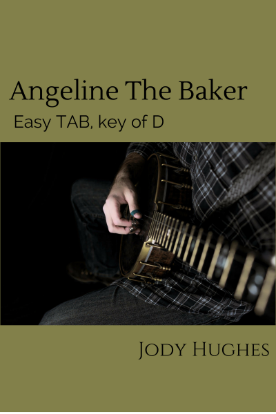Angeline the Baker Banjo TAB